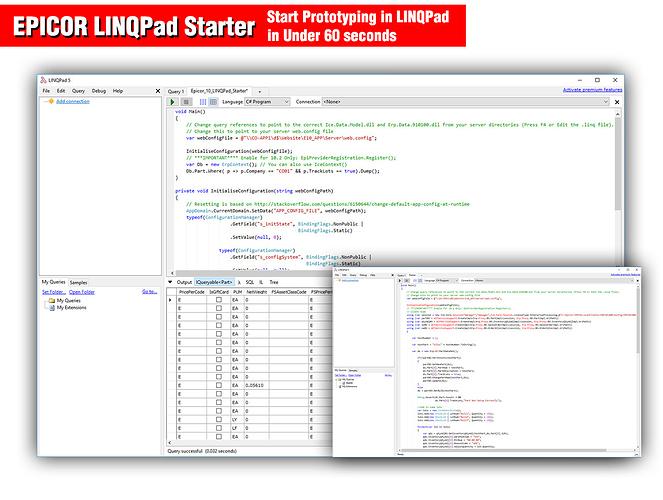 Epicor_LINQPad_5_1