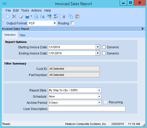 Selecting Records in SSRS Report Based on Parameter for