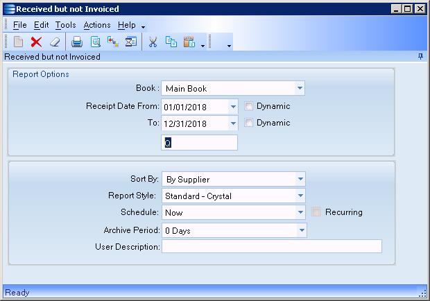 BAQ report designer - ERP 9 - Epicor User Help Forum