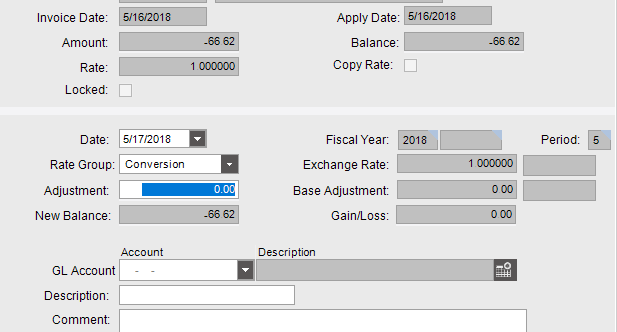 unable to adjust negative credit memo e10 epicor help forum