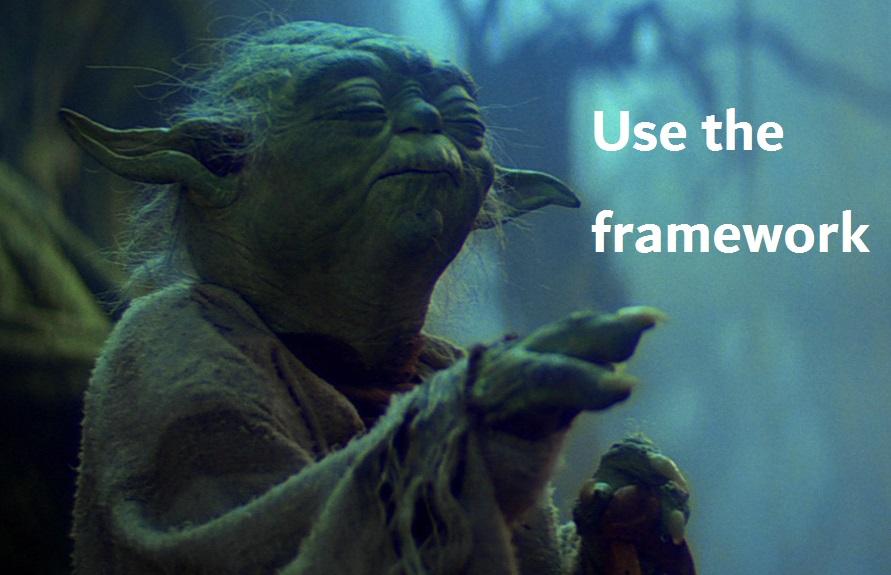 UseTheFramework