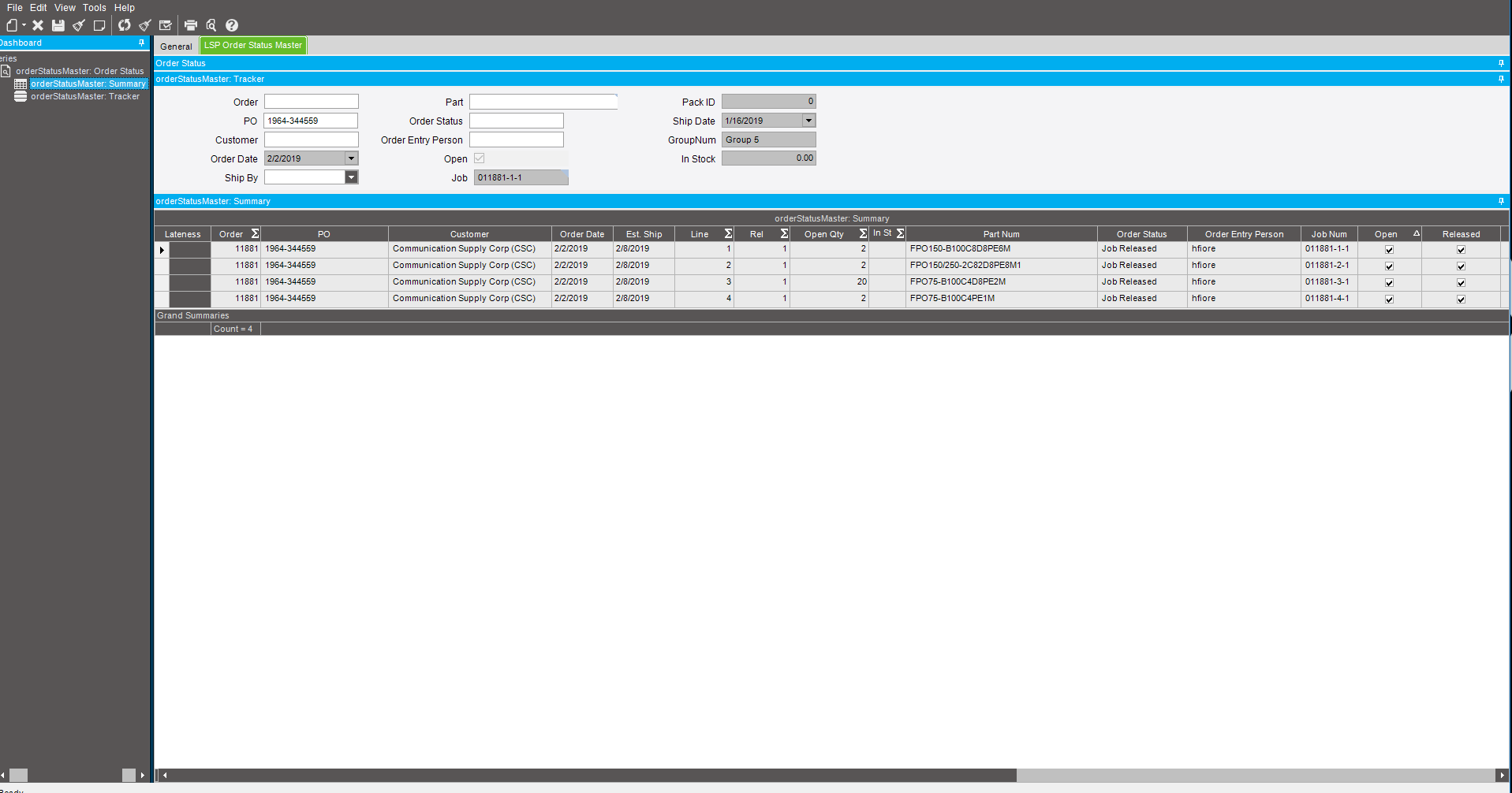 Dashboard not working the same way after deployment - ERP 10