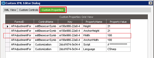 Form elements randomly change size and position - Epicor ERP 10