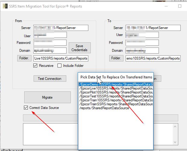 Epicor SSRS Migration Tool - ERP 10 - Epicor User Help Forum