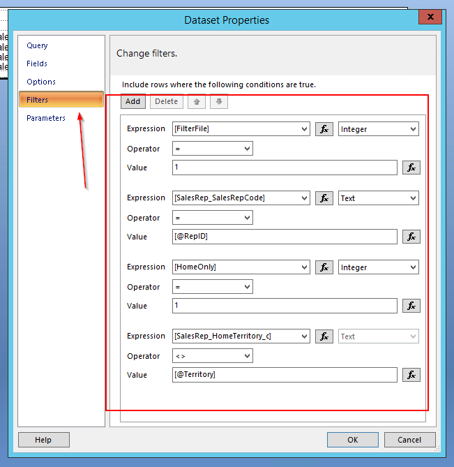 SSRS PSA on Filtering Subreports Performance Fixing - ERP 10